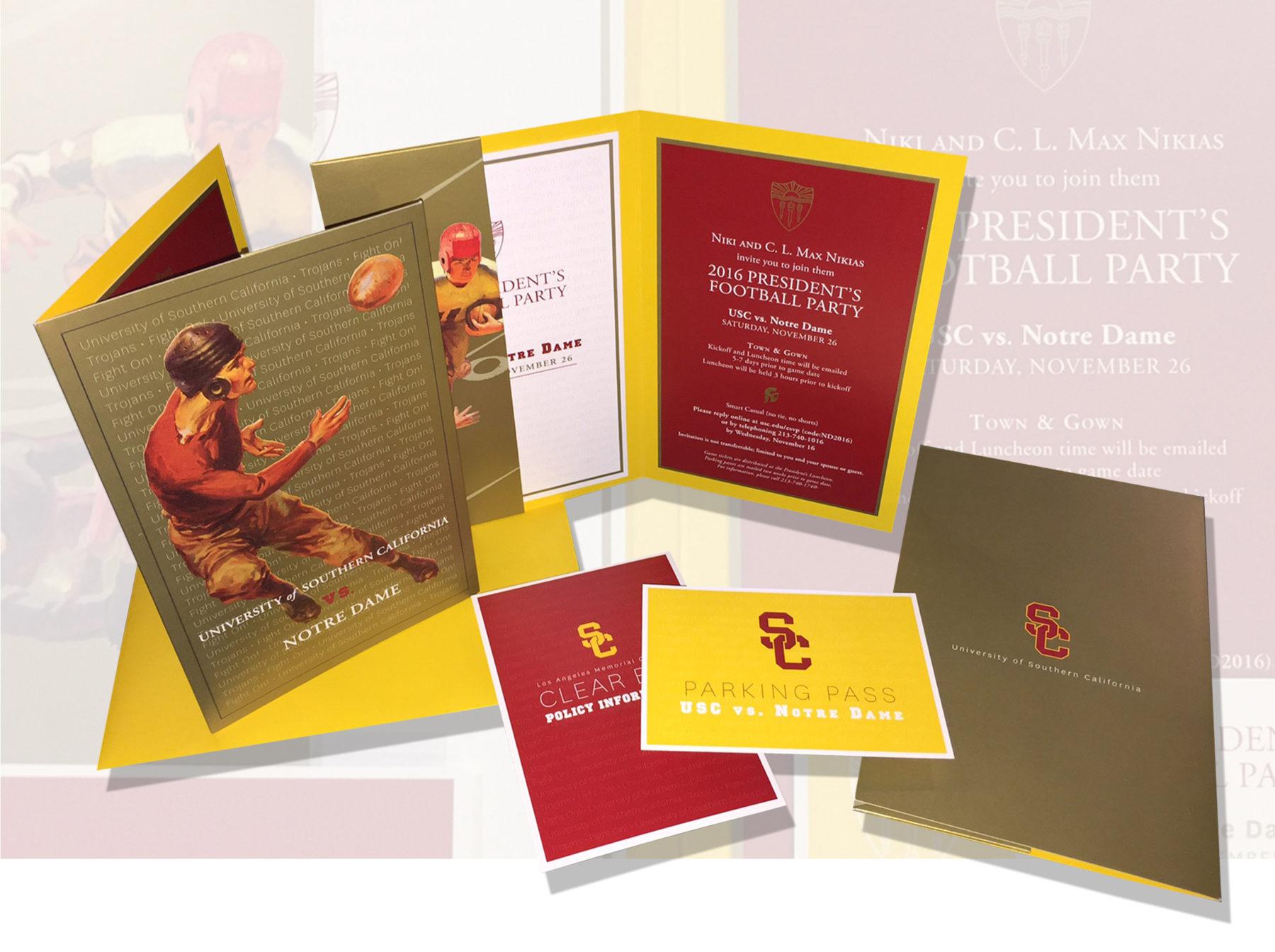 USC-football-row-5 - Card Tricks Designs